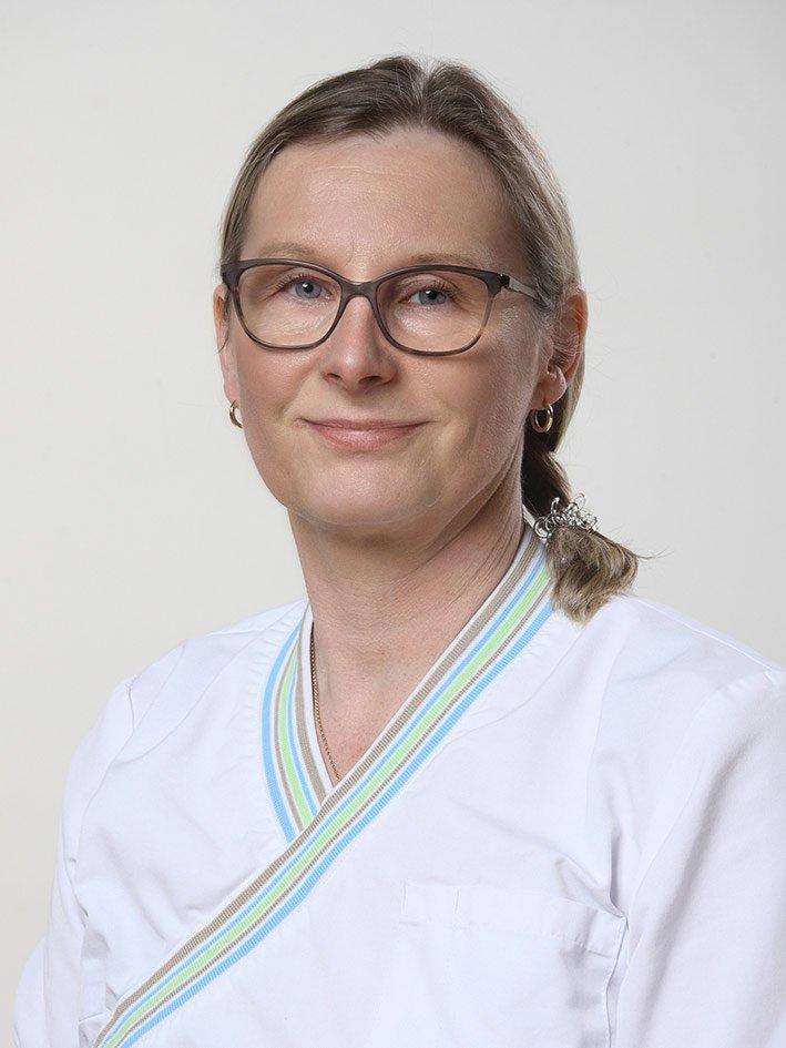 Jaana Malmberg, erikoishammaslääkäri